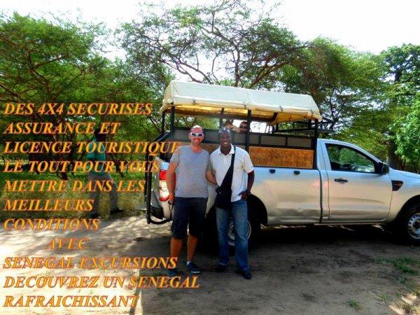 SENEGAL EXCURSIONS POUR UNE VISITE DU SENEGAL DANS LES MEILLEURS CONDITIONS