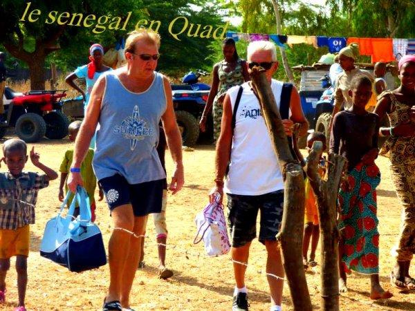 excursions autour de la somone Sénégal