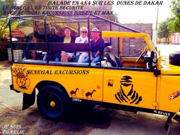 EXCURSIONS AU DEPART DE LA SOMONE SALY SENEGAL
