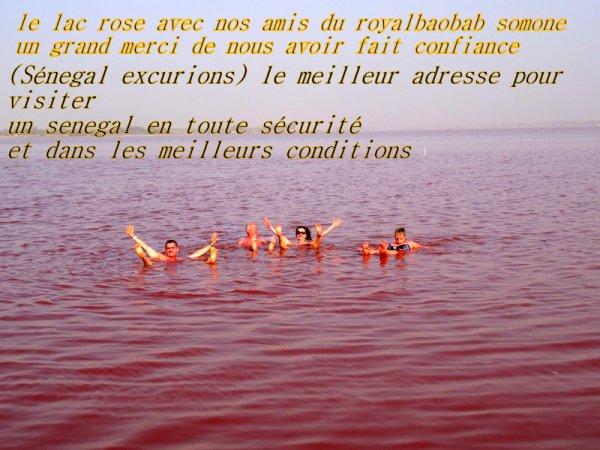 EXCURSIONS AU DEPART DU ROYAL BAOBAB A LA SOMONE, MERCI LES AMIS DE NOUS AVOIR CHOISI