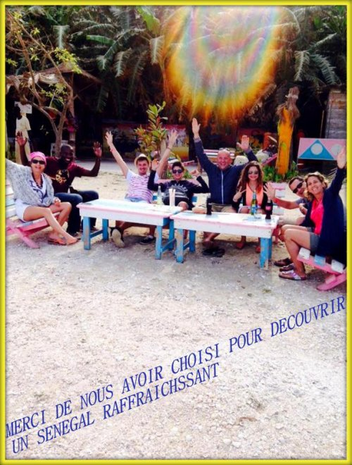 EXCURSIONS AU DEPART DU ROYAL BAOBAB SOMONE TOUTE L'EQUIPE DE SENEGAL EXCURSIONS VOUS REMERCIE DE VOTRE CONFIANCE ET VOUS SOUHAITE UN BON RETOUR CHEZ VOUS...