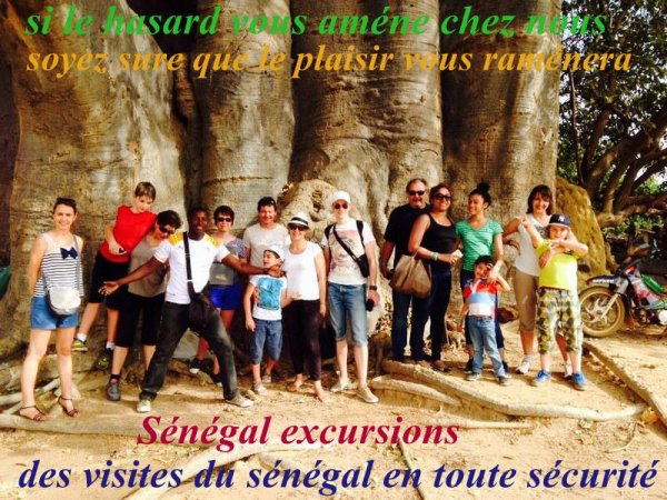 Les Meilleurs excursions au départ de saly ,Somone, Nianing,Avec Sénégal Excursions