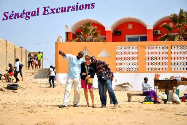NOS EXCURSIONS HOTEL AU DÉPART DE L'HOTEL DECAMERON ROYAL BAOBAB LOOK VOYAGE SOMONE SENEGAL