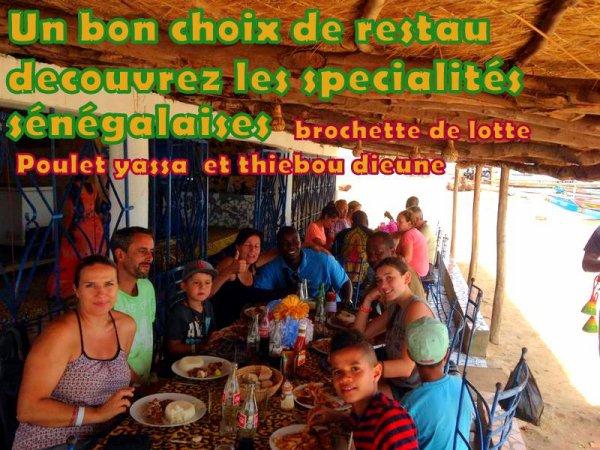 Excursies Sénégal, Somone Saly Nianing Merci de a nos du lookea Royal baobab