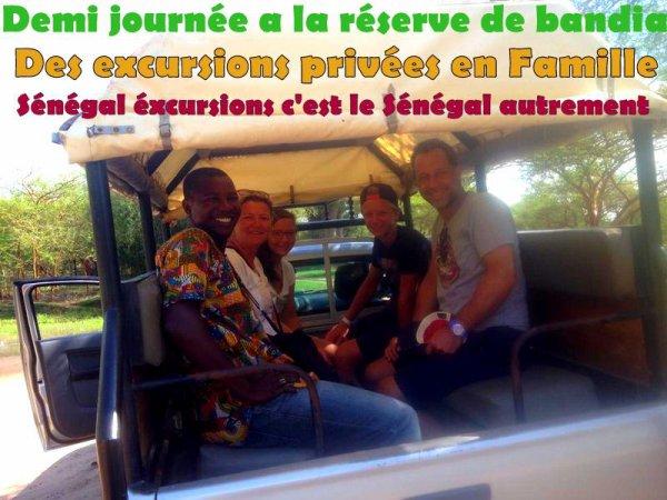 ROYAL BOABAB SOMONE SENEGAL EXCURSIONS EN DEMI JOURNEE RESERVE DE BANIDA