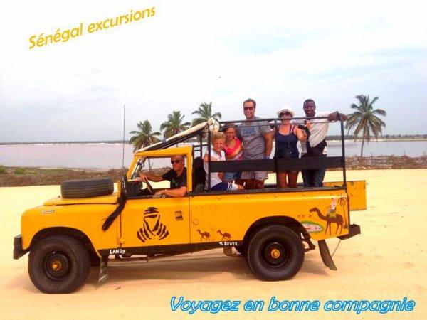 Sénégal Excursions Vivez le meilleurs de vos vacances en notre compagnie