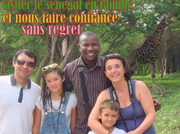 EXCURSIONS AU SENEGAL EN FAMILLE  SOMONE SALY EN TOUTE SECURITE