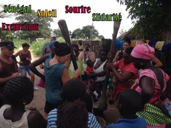Nos Excursions au Départ du royal baobab somone et Saly Sénégal,Merci de votre confiance les amis