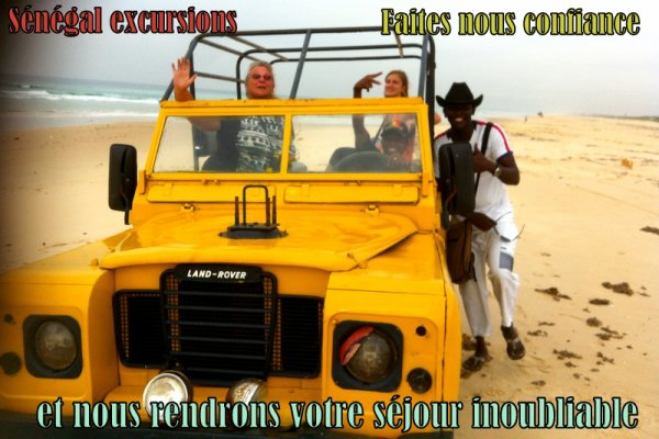 EXCURSION AU DEPART DU ROYAL BAOBAB SOMONE SENEGAL JOURNEE GOREE LAC ROSE