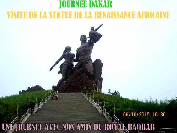 LES EXCURSIONS EN COMITÉ D'ENTREPRISE AU DEPART DU ROYAL BAOBAB SOMONE SENEGAL