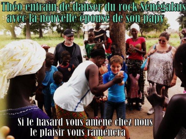 EXCURSIONS EN QUAD DANS LA BROUSSE SENEGALAISE MERCI A LA FAMILLE LE GROS DE LILLE LE NORD DE LA FRANCE