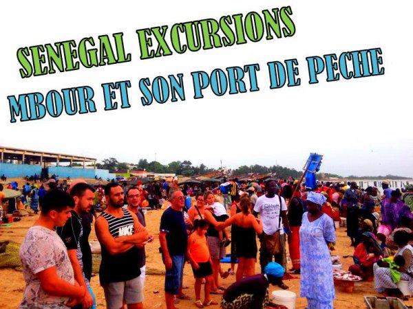 PORT DE PÊCHE DE MBOUR ET SON MARCHE D'ÉPICE EXCURSIONS SOMONE SENEGAL