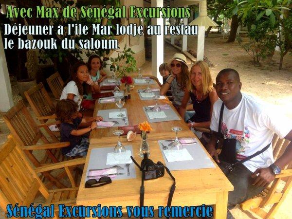 Nos excursions au depuis de la Somone, journée Brousse sur l'ile de Marlodj, des excursions personnalisées Avec Djibril et Max