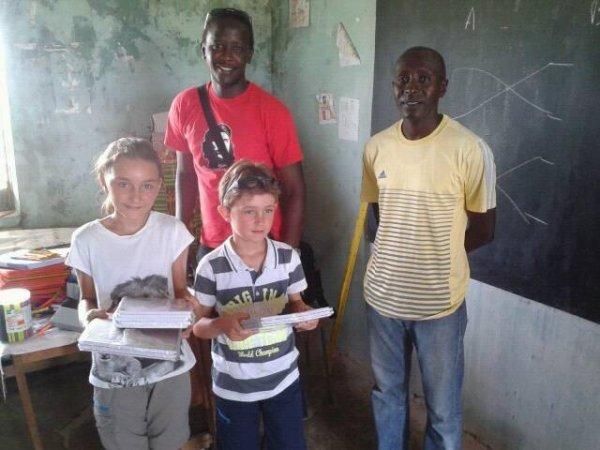 Sénégal excursions royal baobab Somone senegal merci à nos amis de la Belgique