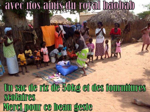 NOS EXCURSIONS DEPUIS LE ROYAL BAOBAB SENEGAL