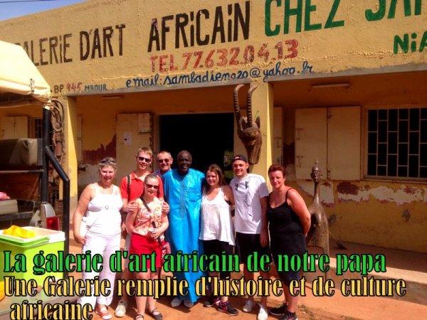 SENEGAL EXCURSIONS AU DEPART DE L'AFRICA QUEEN SOMONE