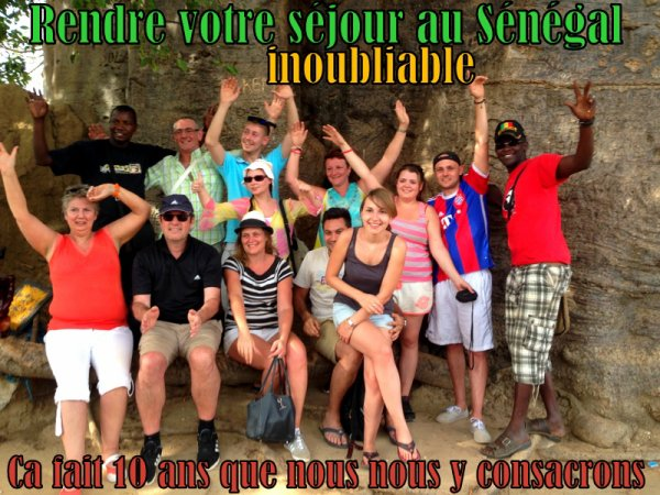 HOTEL NEPTUNE SALY SÉNÉGAL,CLUB ROYAL BAOBAB SOMONE SENEGAL, SENEGAL EXCURSIONS DJIBRIL ET MAX