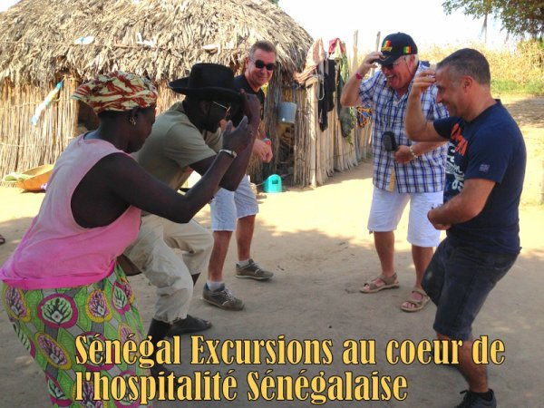 Journée brousse et village, excursions au départ de la Somone Sénégal
