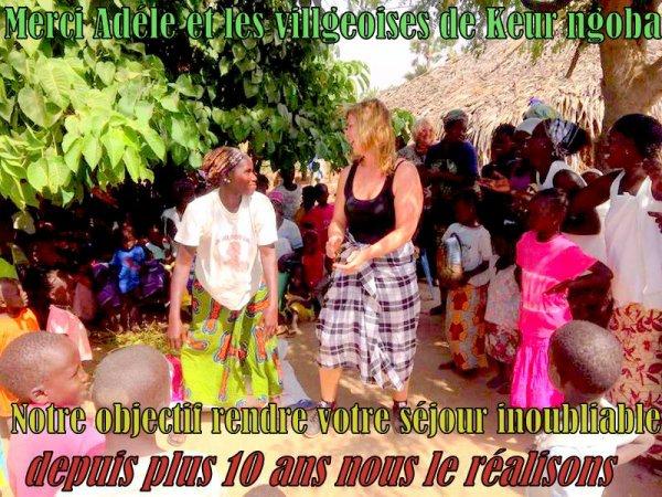 EXCURSIONS AU SENEGAL AU DEPART DE NGAPAROU, JOURNÉE DÉCOUVERTE DE BROUSSE SÉNÉGALAISE ET DES VILLAGES