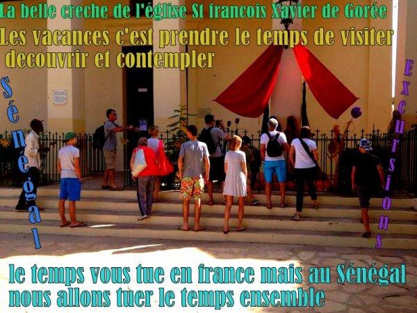 EXCURSIONS AU DEPART DE SALY EN FAMILLE JOURNÉE SUR L'ILE DE GOREE ET LE LAC ROSE AVEC LA FAMILLE RUHOZI UN GRAND DE VOTRE MAGNIFIQUE SOURIRE