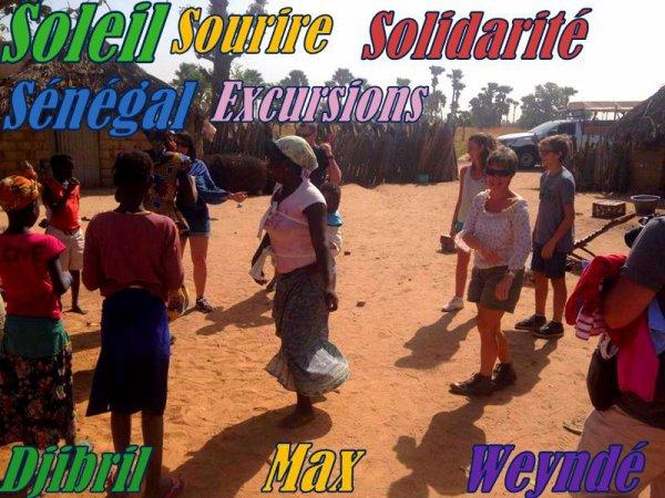 SENEGAL EXCURSIONS JOURNEE BROUSSE ET VILLAGE AVEC NOS AMIS DU ROYAL BAOBAB SOMONE SALY