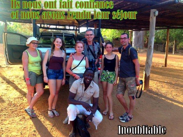 demi journée réserve de bandia au départ du royal baobab somone sénégal