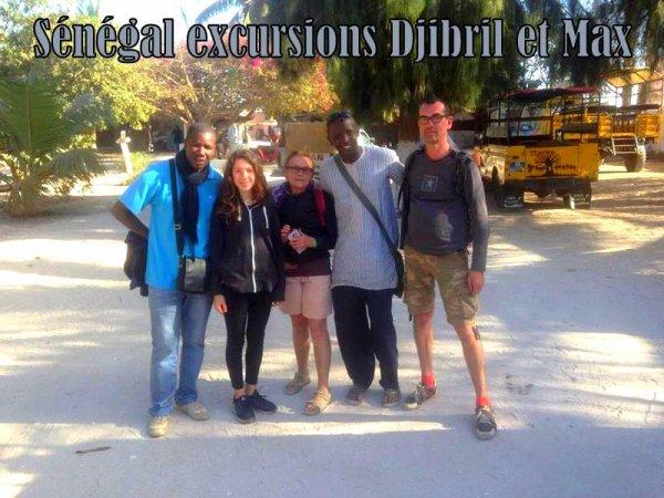 Journée Gorée Lac rose avec nos amis de l'hotel royal baobab somone