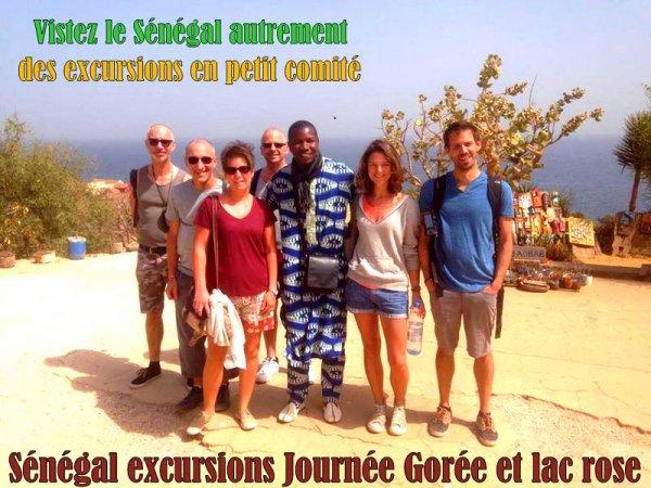 JOURNEE GOREE LAC ROSE AU DEPART DU ROYAL BAOBAB SOMONE SENEGAL