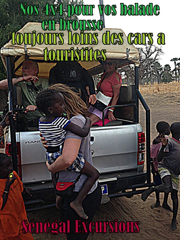 JOURNEE EXCURSIONS EN BROUSSE AU DEPART DU DECAMERON ROYAL BAOBAB SENEGAL