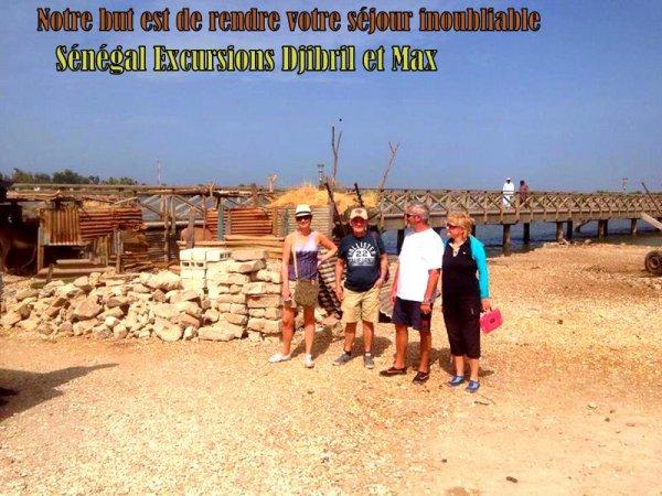 demi journée îles aux coquillages au départ du royal baobab a la Somone
