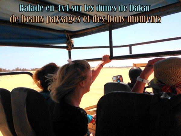 excursions au depart de Saly et de la Somone Sénégal