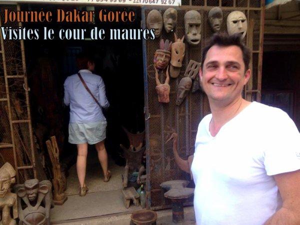 JOURNEE DAKAR GOREE ET RESERVE DE BANDIA AU SENEGAL DEPART DE L'HOTEL RADISSON BLUE DAKAR