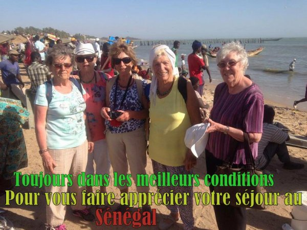 EXCURSIONS A SALY SENEGAL HOTEL NEPTUNE, HOTEL ROYAM A SALY, HOTEL FILAOS SALY SENEGAL