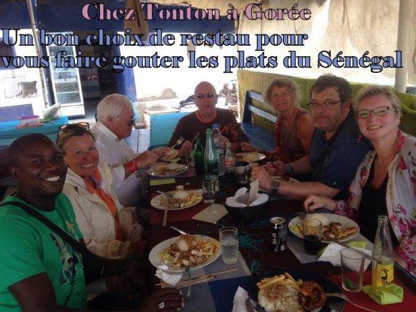 JOURNEE GOREE LAC ROSE AU DEPART DU ROYAL BAOBAB SOMONE ET DE L'HOTEL NEPTUNE SALY