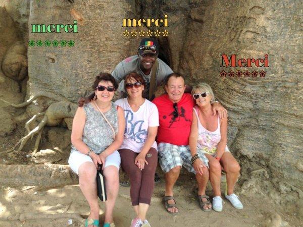EXCURSIONS AU DEPART HOTEL AFRICA QUEEN SOMONE,ROYAL BAOBAB DECAMERON SENEGAL