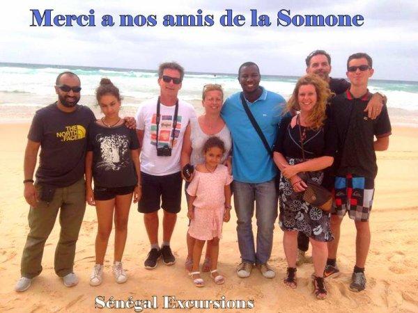 UNE BELLE JOURNÉE D'EXCURSION AU DÉPART DU VILLAGE DE LA SOMONE SÉNÉGAL