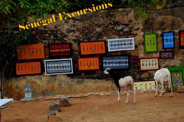 EXCURSIONS AU SENEGAL A SALY AU DEPART DE L'HOTEL ROYAM AU SENEGAL