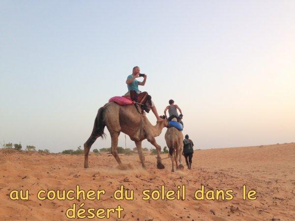 CIRCUIT DE 2 JOURS LAC ROSE ET LE DÉSERT DE LOMPOUL AVEC NOS AMIS DE L'AUBERGE KEUR MARIGUEN A LA SOMONE