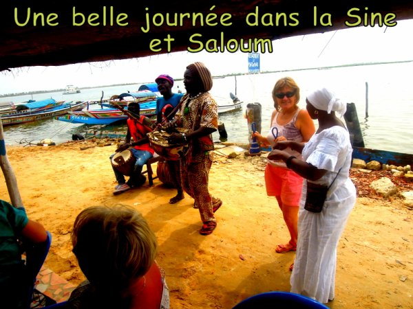 UNE MAGNIFIQUE JOURNEE AU C¼UR DU SENEGAL AVEC NOS AMIS DE L'HOTEL ROYAM ET AFRICA QUENN  SOMONE