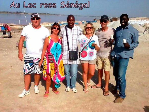 Merci a nos amis de royal baobab baobab Somone Sénégal journée sur l'ile de Gorée et au lac rose