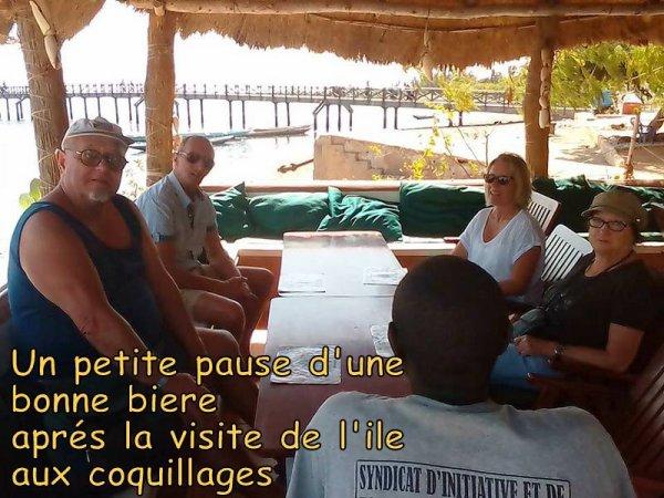 JOURNEE ILE AU COQUILLAGES RETOUR DES PECHEURS DÉJEUNER CHEZ L'HABITANT AVEC NOS DE L'HOTEL PALM BEACH A SALY