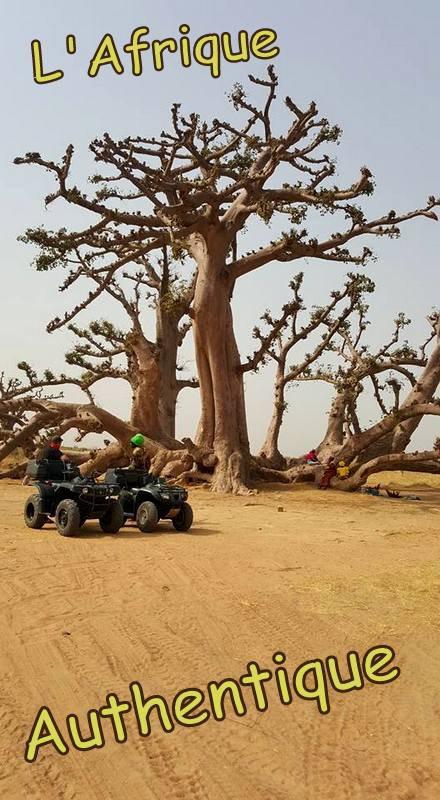 Sénégal Excursions Balade en Quad au depart de l'hotel royam Saly