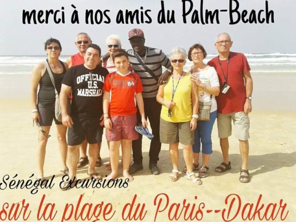 Excursions au départ du palm beach senegal merci de votre confiance.