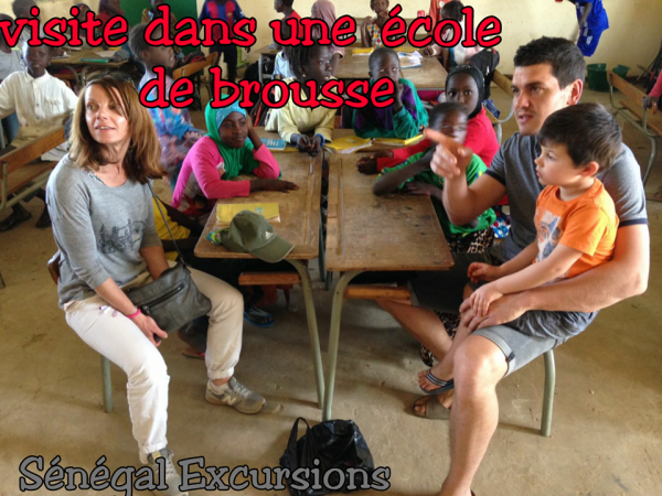 jOURNEE EN BROUSSE AU DEPART DE L'AUBERGE KEUR MARIGUEN SOMONE MERCI A LA FAMILLE JOUFFRE