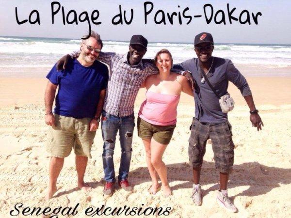 Très belle journée à l'île de goree avec nos amis du royam hotel saly