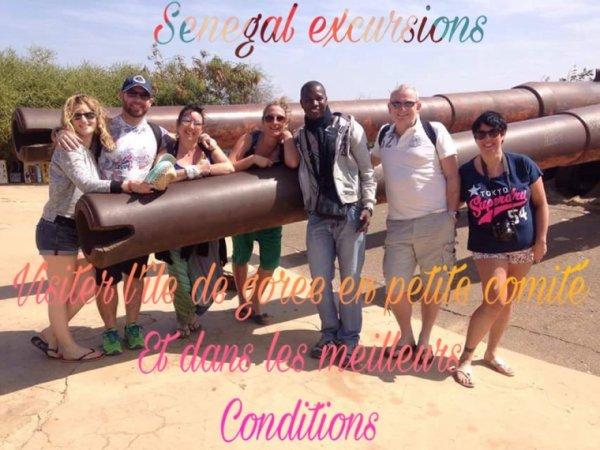 JOURNEE GOREE LAC ROSE AVEC SENEGAL EXCURSIONS AU DÉPART DE SALY
