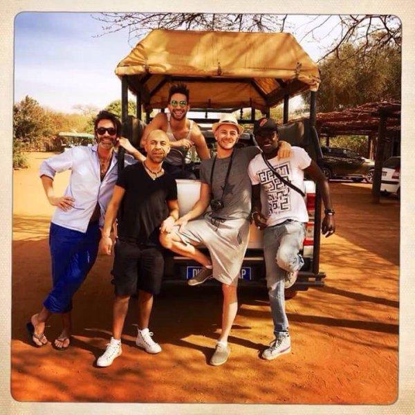 Découverte de la Réserve de bandia avec nos amis parisiens du rhino resort à saly