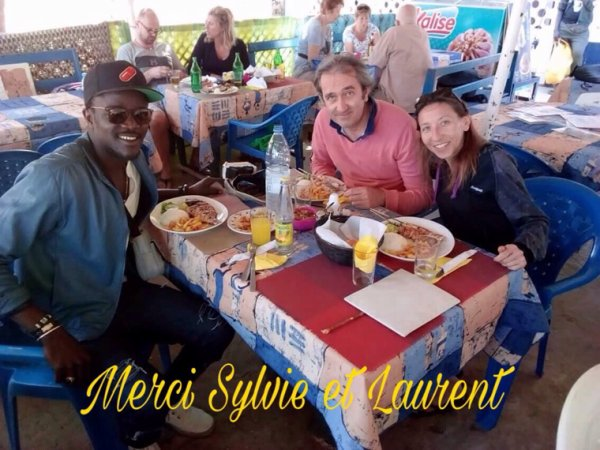 Merci à nos amis du saly hotel decouverte de l'île goree et le lac rose au départ de saly.