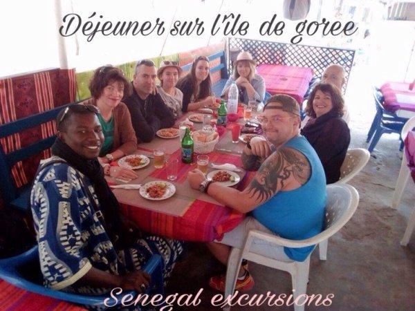 JOURNEE ÎLE DE GOREE ET LAC ROSE AU DÉPART DE L'HÔTEL FILAOS NOUVELLE FRONTIÈRE AU SENEGAL
