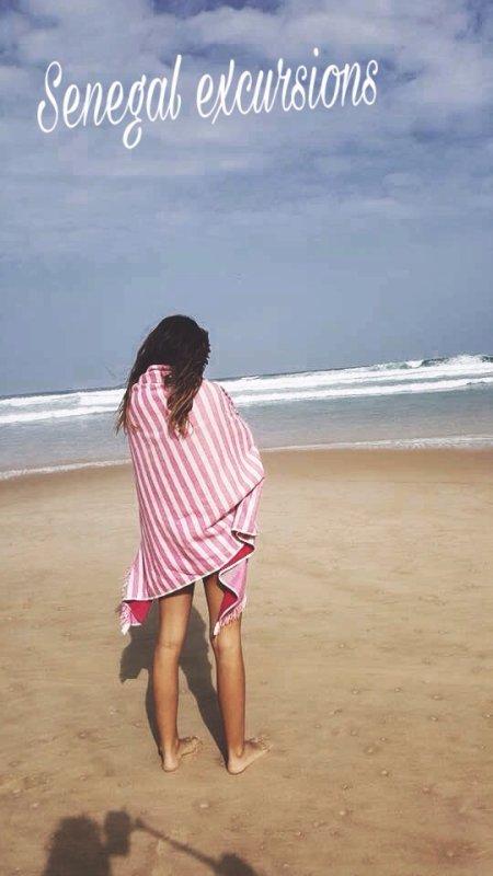La rose au senegal au départ de l'hôtel palm beach Senegal Saly